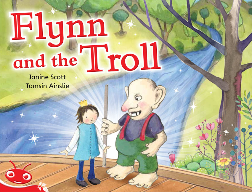 Bug Club Level  5 - Red: Flynn and the Troll (Reading Level 5/F&P Level D)