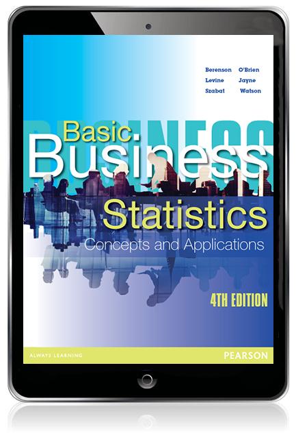 Basic business statistics ebook 4th berenson mark et al buy pearson 9781486019410 9781486019410 basic business statistics ebook fandeluxe Choice Image