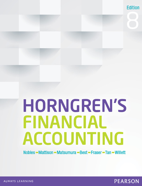 Horngren S Financial Accounting