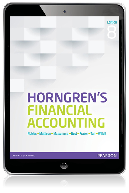 Horngrens financial accounting ebook 8th nobles tracie et al pearson 9781486021161 9781486021161 horngrens financial accounting ebook fandeluxe Gallery