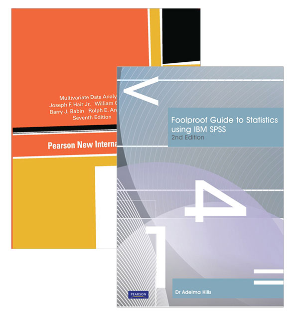 Multivariate Data Analysis, Pearson New International Edition + Foolproof Guide to Statistics Using IBM SPSS, 7th Edition