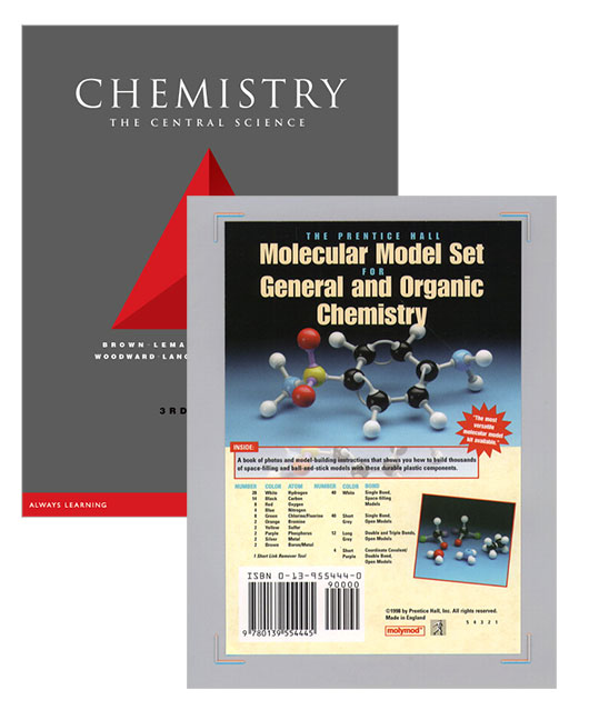 Virtual book display molecular model set for general and organic chemistry chemistry the central science value pack 3e fandeluxe Choice Image