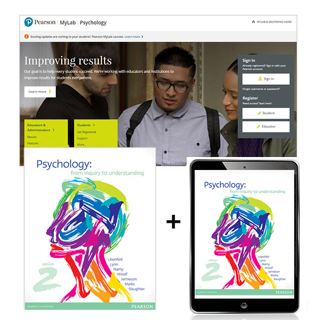 Virtual book display psychology from inquiry to understanding mylab psychology with etext 2e by lilienfeld fandeluxe Images