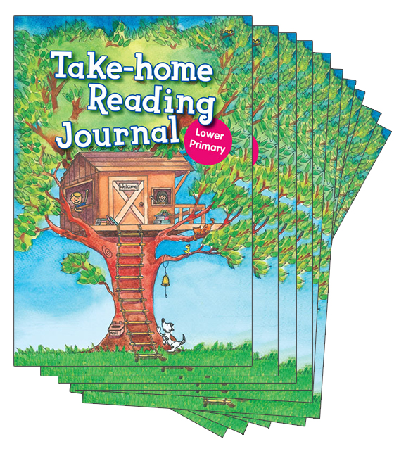 Take-Home Reading Journal Lower Primary Grade Pack (100 copies)