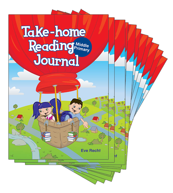 Take-Home Reading Journal Middle Primary Grade Pack (100 copies)
