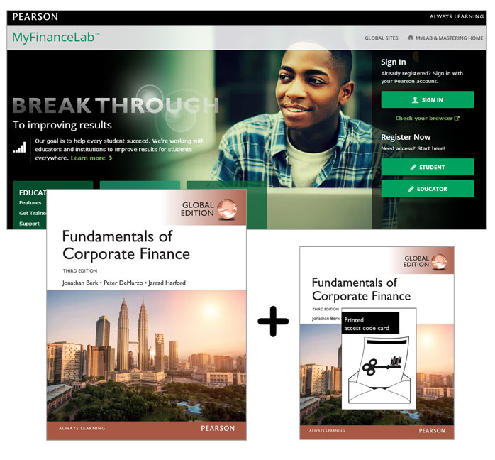 MyFinanceLab with Pearson eText -- Access Card -- for Fundamentals of Corporate Finance