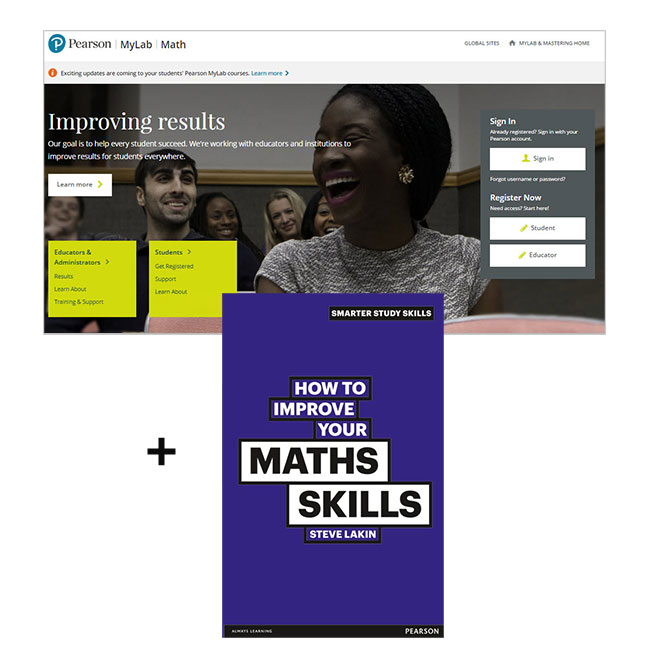 How to Improve Your Maths Skills + MyLab Math, 2nd Edition