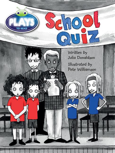Bug Club Plays - Purple: School Quiz (Reading Level 19-20/F&P Level K)