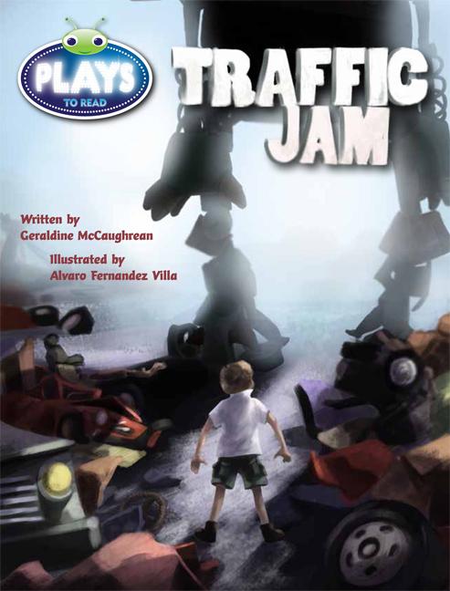 Bug Club Plays - Lime: Traffic Jam (Reading Level 25-26/F&P Level P-Q) - Image