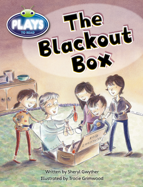 Bug Club Plays - Yellow: The Blackout Box (Reading Level 6-8/F&P Level D-E) - Image