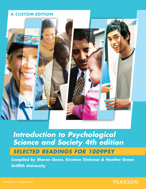 Introduction to psychological science society custom edition pearson 9781488613456 9781488613456 introduction to psychological science society custom edition fandeluxe Images