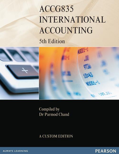 International Accounting ACCG835 (Custom Edition) - Image