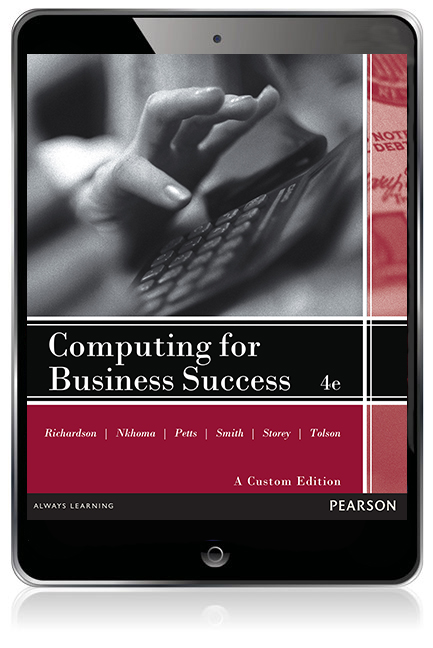 Virtual book display computing for business success pearson original ebook 4e fandeluxe Image collections