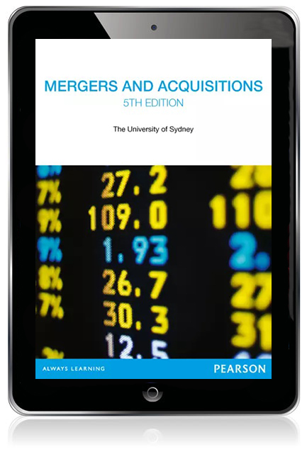 Mergers and Acquisitions (Custom Edition eBook) - Image