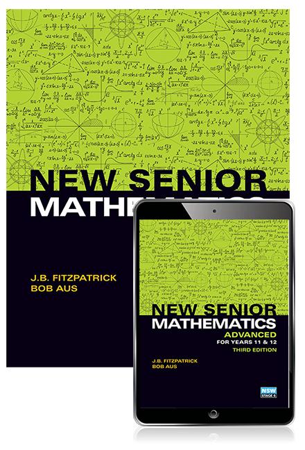 New Senior Mathematics Advanced Years 11 & 12 Student Book with