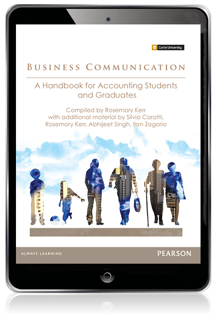 Business communication a handbook for accounting students and pearson 9781488618789 9781488618789 business communication a handbook for accounting students and graduates custom edition ebook fandeluxe Images