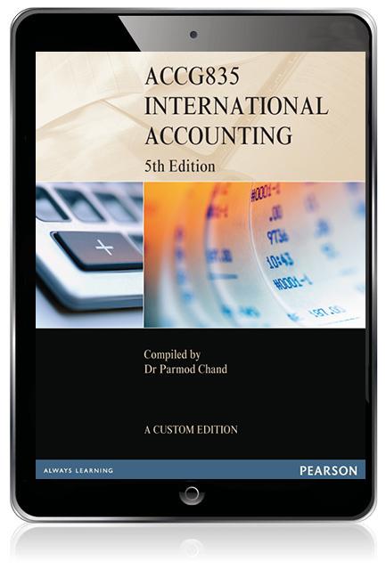 International Accounting ACCG835 (Custom Edition eBook) - Image
