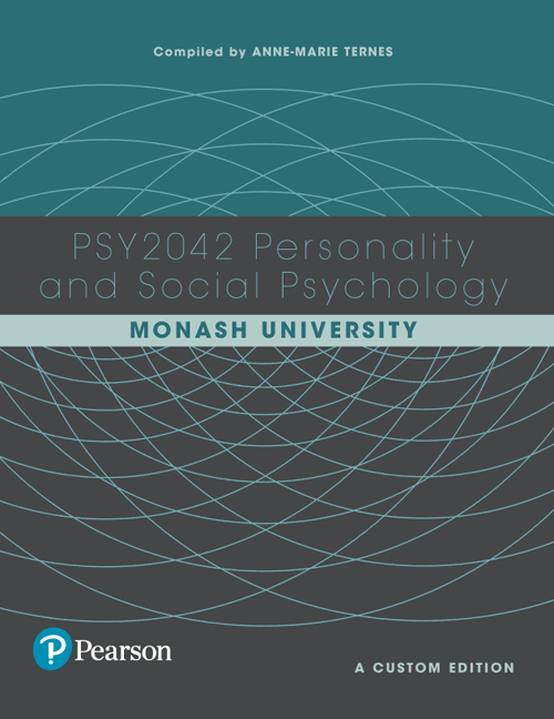 Personality and social psychology psy2042 custom edition 1st pearson 9781488619960 9781488619960 personality and social psychology psy2042 custom edition fandeluxe Image collections