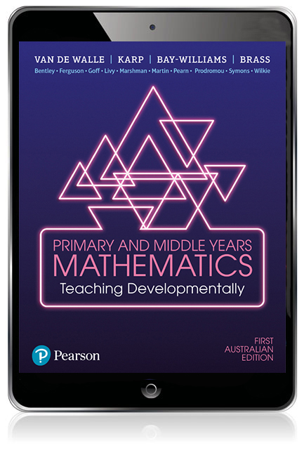 Primary and Middle Years Mathematics: Teaching Developmentally eBook - Image