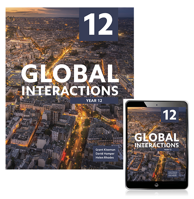 Global Interactions Year 12 Student Book with eBook - Image