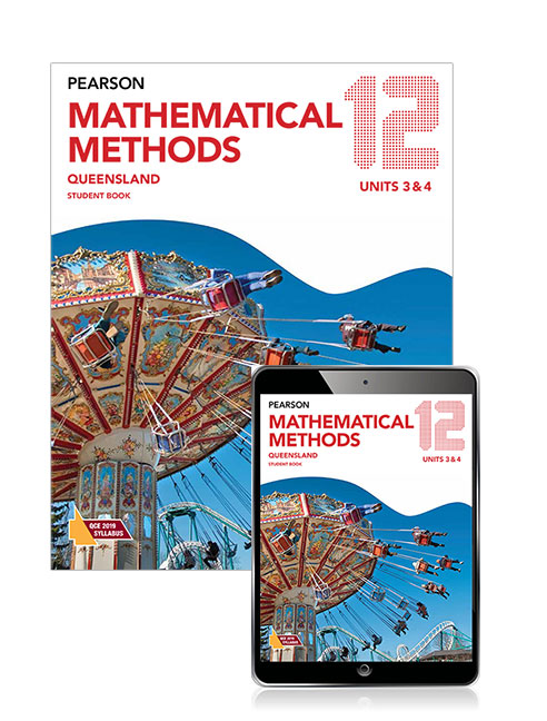 Pearson Mathematical Methods Queensland 12 Student Book with eBook