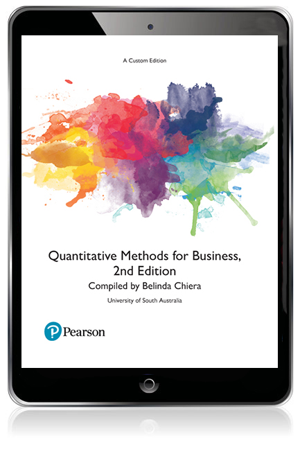 Quantitative methods for business custom ebook 2nd chiera pearson 9781488621635 9781488621635 quantitative methods for business custom ebook fandeluxe Images