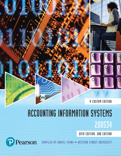 Pearson 9781488624216 Accounting Information Systems 200534 Custom Edition