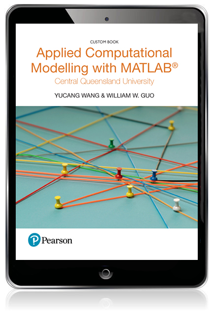 Applied Computational Modelling with MATLAB (Custom Edition eBook)