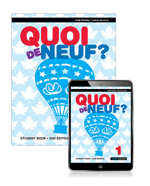 Quoi de Neuf ? 1 Student Book with eBook