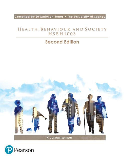 Health, Behaviour and Society HSBH1003 (Custom Edition) - Image