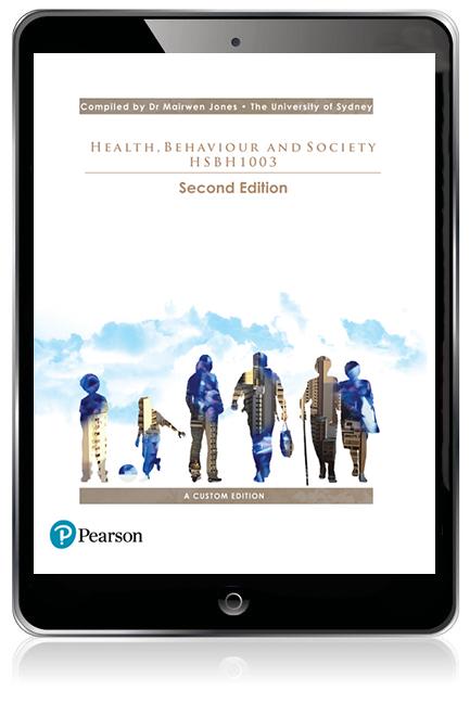 Health, Behaviour and Society HSBH1003 (Custom Edition eBook) - Image