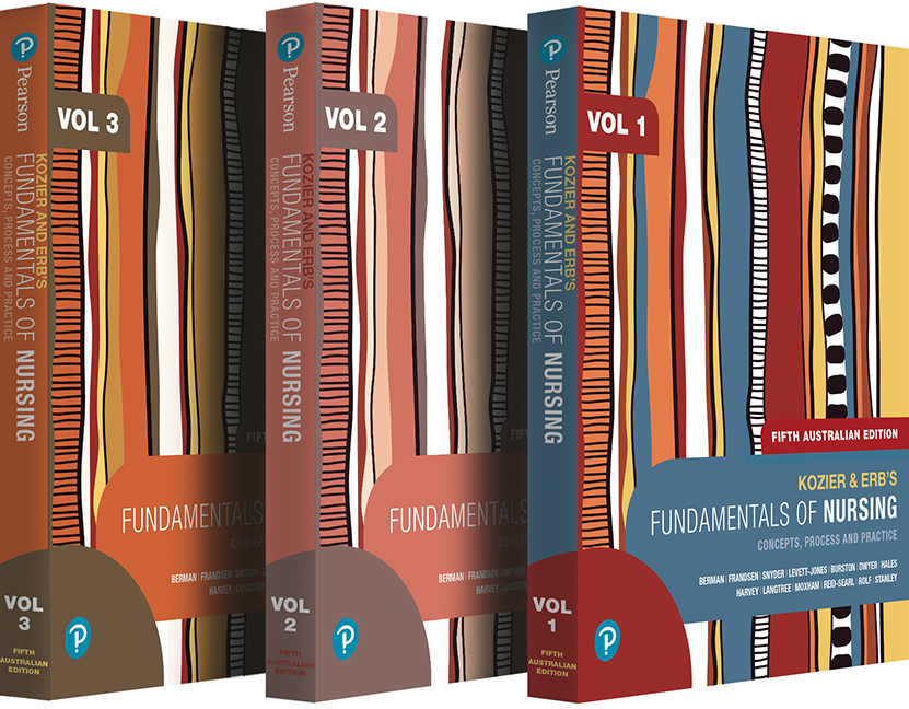 Kozier and Erb's Fundamentals of Nursing, Volumes 1-3