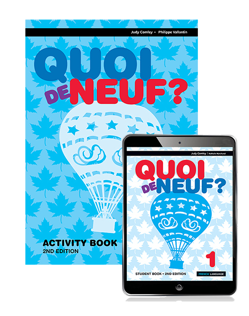Quoi de Neuf ? 1 eBook and Activity Book, 2nd Edition