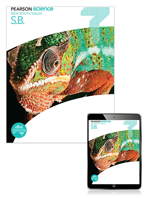 Pearson Science New South Wales  7 Student Book with eBook - Image
