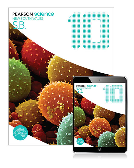 Pearson Science New South Wales 10 Student Book with eBook