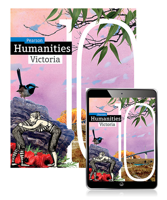 Pearson Humanities Victoria 10 Student Book with eBook and Lightbook Starter - Image