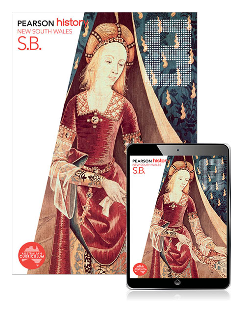 Pearson History New South Wales  8 Student Book with eBook