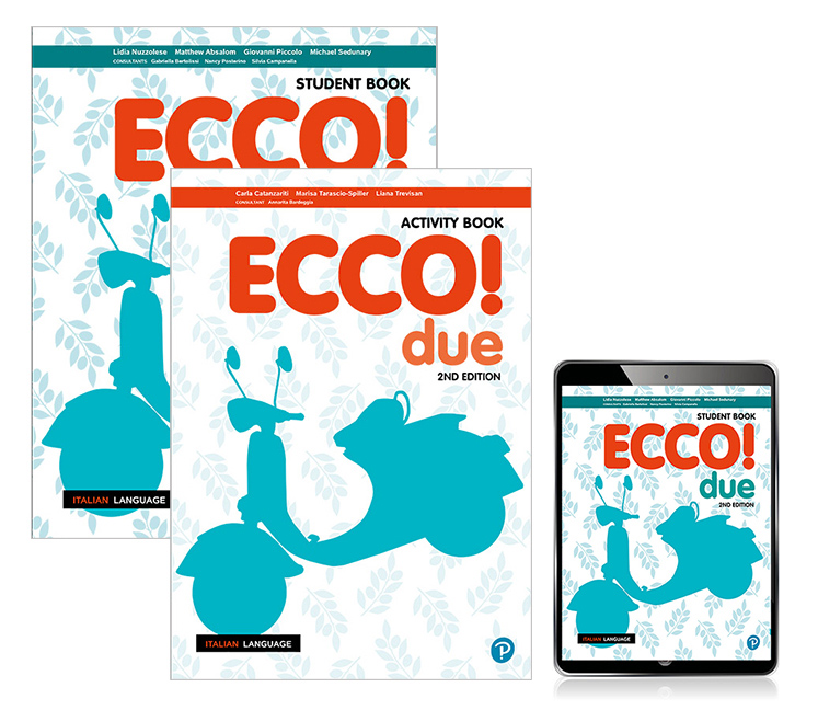 Ecco! due Student Book, eBook and Activity Book, 2nd Edition