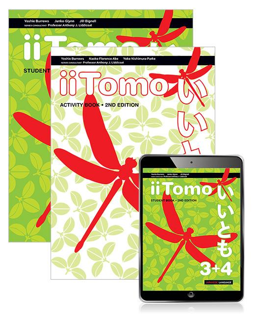 iiTomo 3+4 Student Book, eBook and Activity Book, 2nd Edition