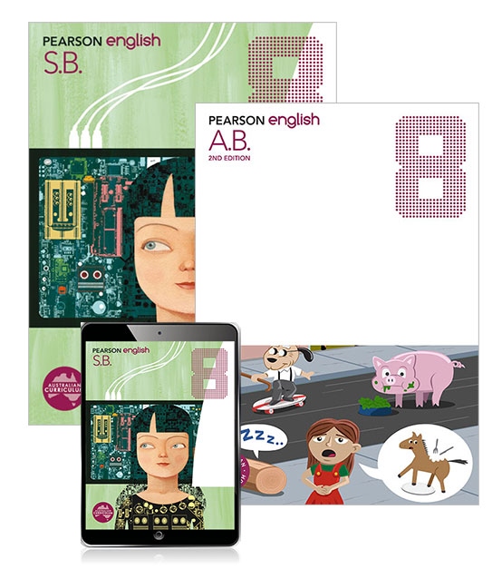 Pearson English  8 Student Book and Activity Book with eBook