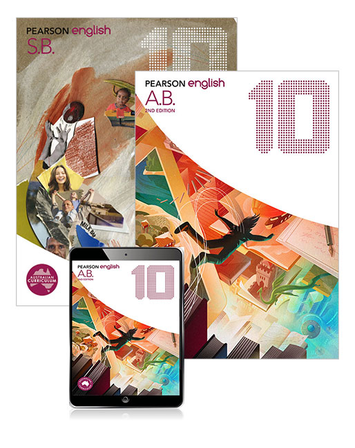 Pearson English 10 Student Book and Activity Book with eBook