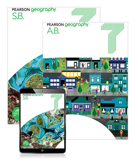 Pearson Geography  7 Student Book, eBook and Activity Book