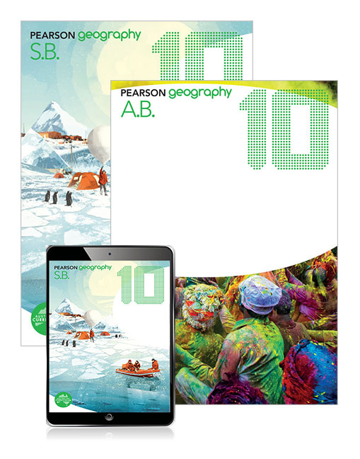 Pearson Geography 10 Student Book, eBook and Activity Book