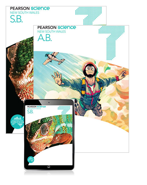 Pearson Science New South Wales  7 Student Book, eBook and Activity Book