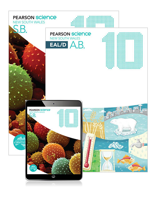 Pearson Science New South Wales 10 Student Book, eBook and EAL/D Activity Book