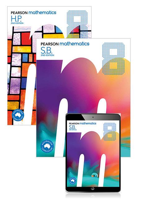 Pearson Mathematics  8 Student Book, eBook, Lightbook Starter and Homework Program