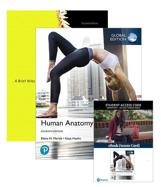Human Anatomy & Physiology, Global Edition with eBook + A Brief Atlas of the Human Body, 11th Edition
