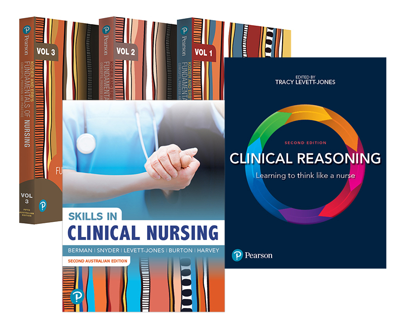Kozier and Erb's Fundamentals of Nursing, Volumes 1-3 + Clinical Reasoning + Skills in Clinical Nursing, 5th Edition