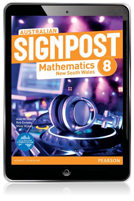 Australian Signpost Mathematics New South Wales  8 eBook - Image