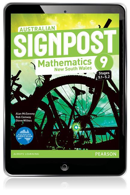 Australian Signpost Mathematics New South Wales  9 (5.1-5.2) eBook - Image